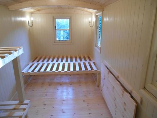 glamping hut devon